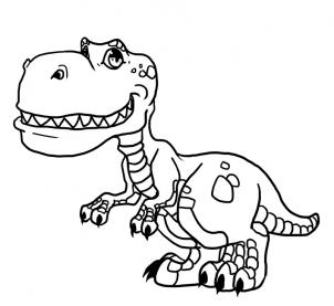 302x277 Coloring Pages Cute Dinosaur Drawings 3af How To Draw Dinosaurs
