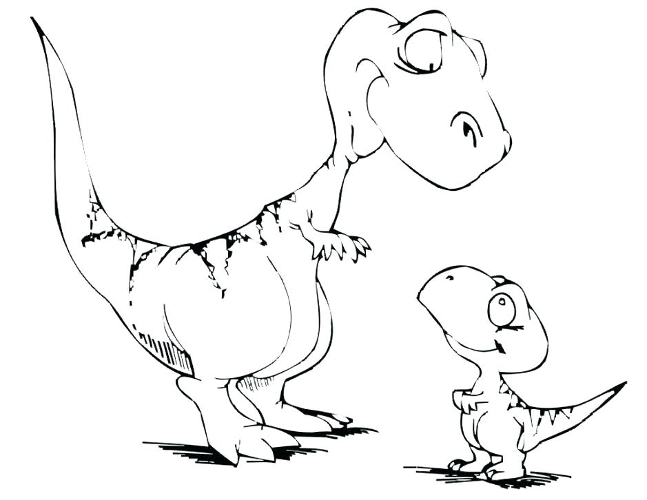 939x726 Dinosaur Drawings For Coloring Free Dinosaur Coloring Pages Good