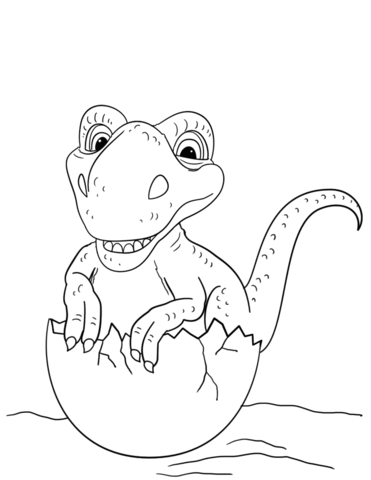 371x480 Dinosaurs Coloring Pages Free