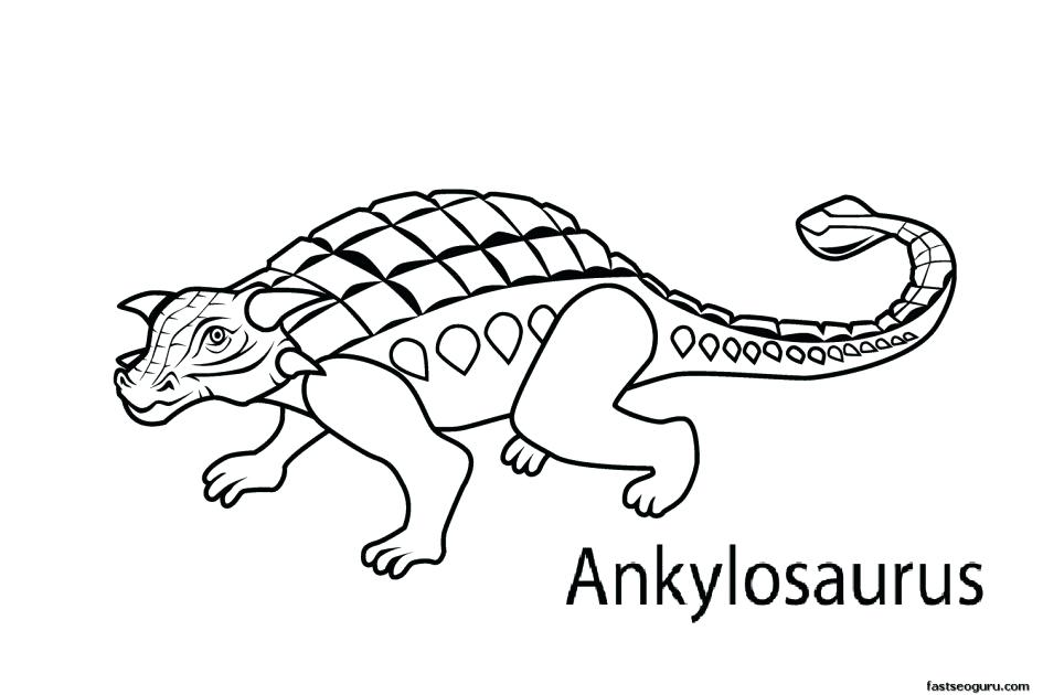 945x630 Printable Dinosaur Coloring Pages With Names 2 Dinosaurs Draw