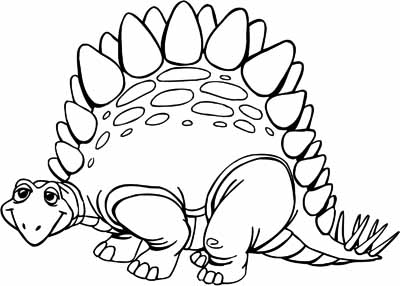 400x286 Dinosaur Coloring Pages Free
