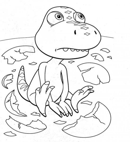 550x600 Dinosaur Train Coloring Book Picture Dinosaur Train Coloring Pages