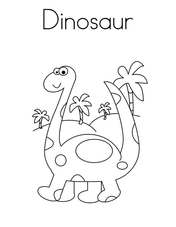600x776 Cartoon Dinosaur Coloring Sheets Coloring Collection