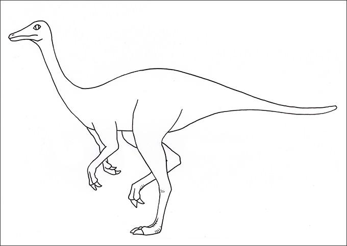 Dinosaur Drawing For Kids