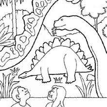 220x220 Dinosaur Coloring Pages