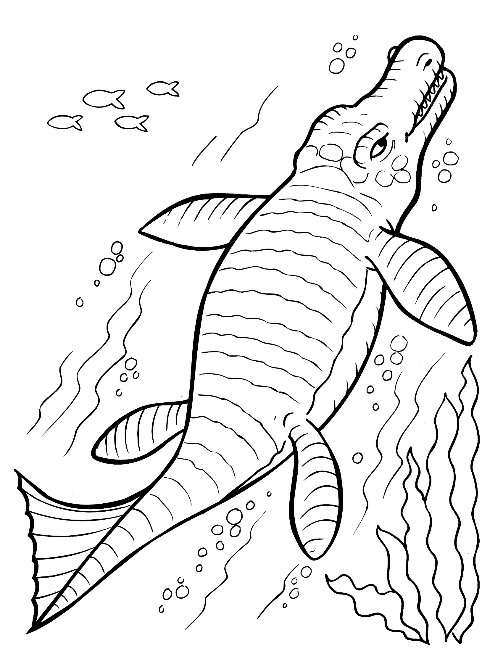 1700x2200 Dinosaur Coloring Pages