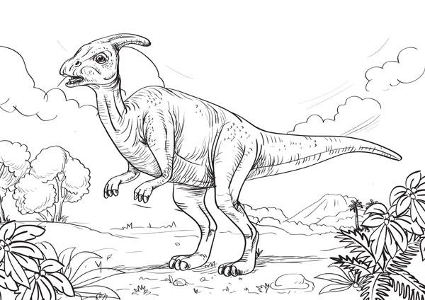 600x424 Kids' Fun Page Dinosaur Park Tenby