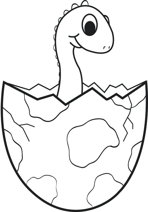 490x700 Print Dinosaur Coloring Pages Cartoon Baby Dinosaur Coloring Page