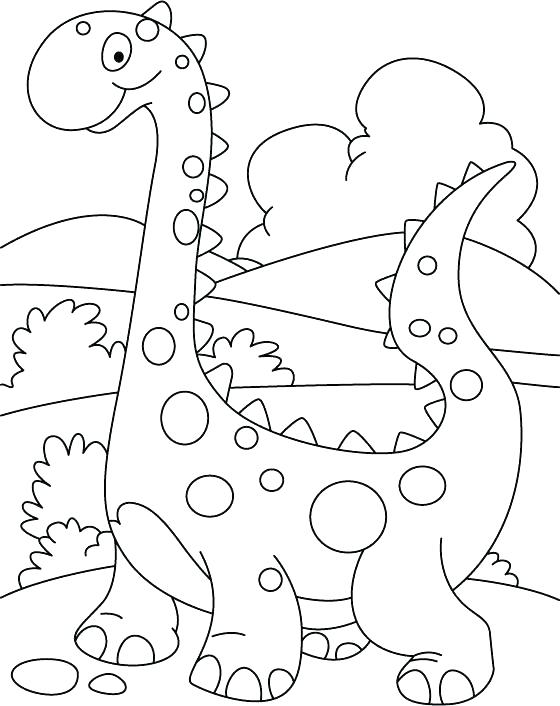 560x706 Unique Coloring Pages Dinosaur Print Best Ideas On Of Dinosaurs