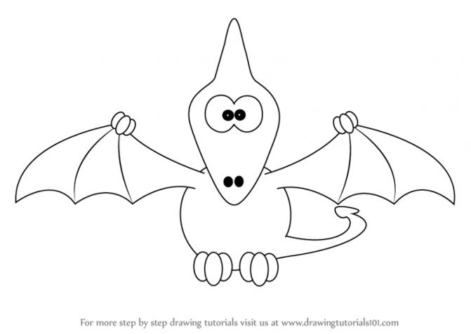 671x476 Coloring Pages Easy Dinosaur Drawings Easy Dinosaur Drawings