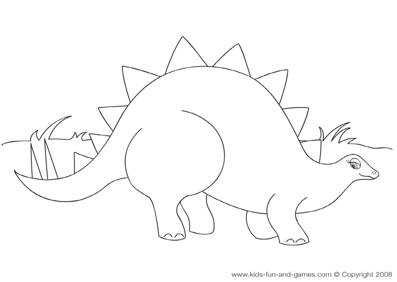 775x550 Dinosaur Coloring Sheets For Kids Coloring Pages