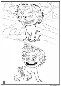 236x335 Good Dinosaur Coloring Pages Free Printable 32 Dino