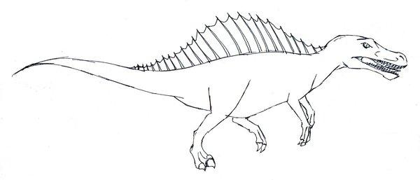 600x257 Danger Dinosaur 2 Sketch By Fandragonball