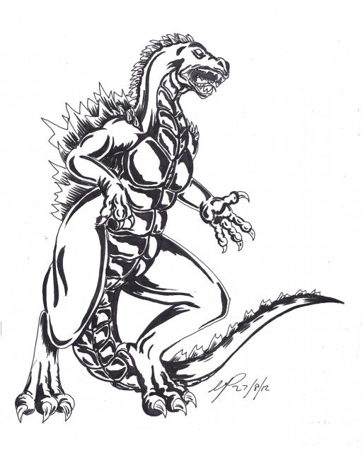 513x640 Drawn Dinosaur Mutant