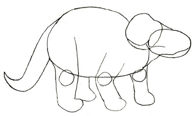 400x237 How To Draw A Dinosaur