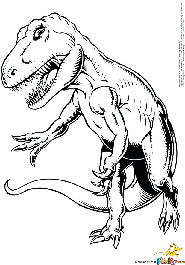 618x887 Stylist And Luxury Coloring Pages Draw A Dinosaur Drawing Page