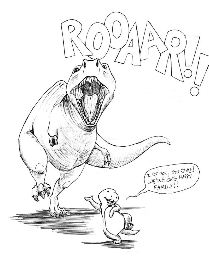 800x985 Realistic Dinosaur Drawings Coloring Pages