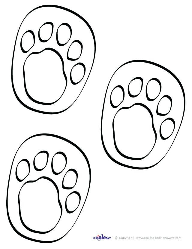 640x828 Footprint Coloring Page Dinosaur Footprint Coloring Pages Animal