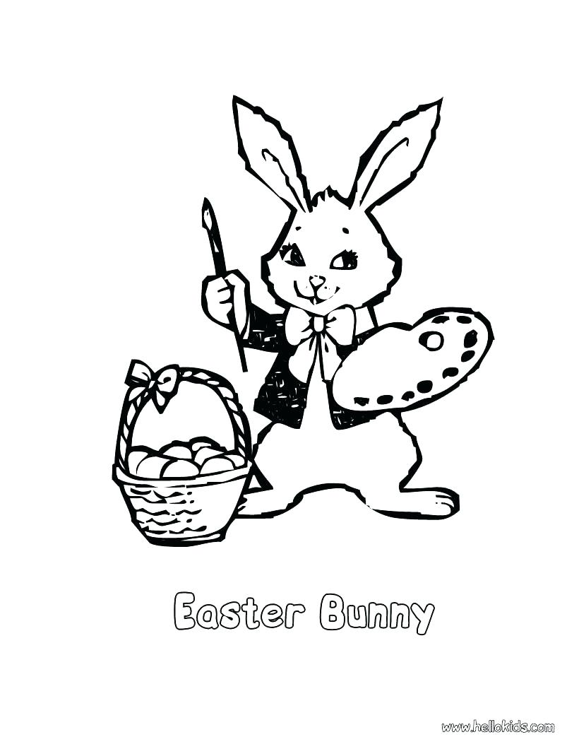820x1060 Coloring Footprints Coloring Page Bunny Artist Excellent Free