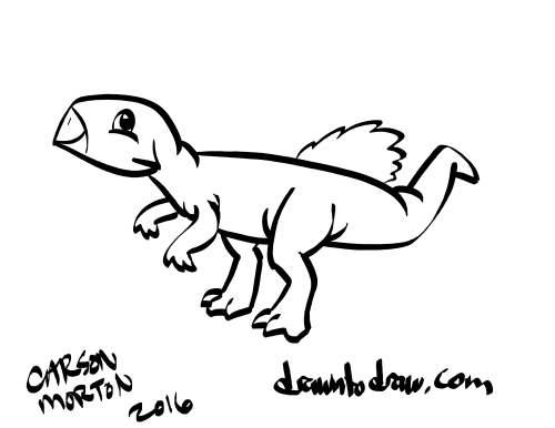 500x386 Dinovember 28 2016 Drawn To Draw