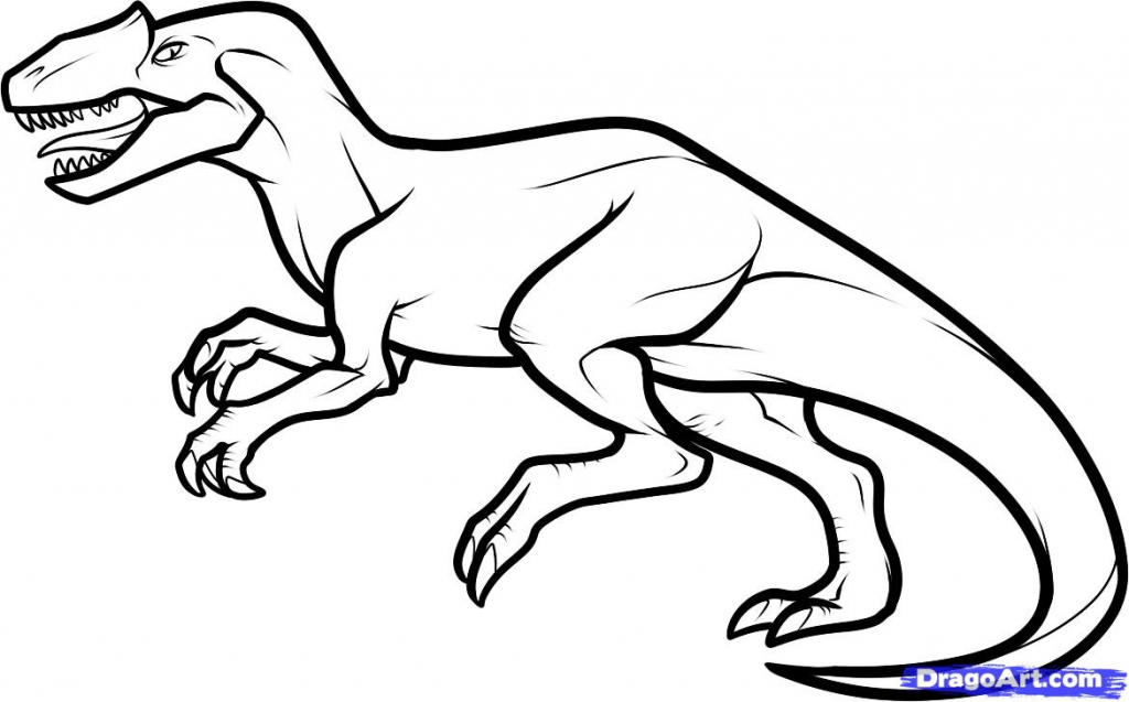 1024x637 Drawing Of A Dinosaur Best Photos Of Realistic Dinosaur Drawings