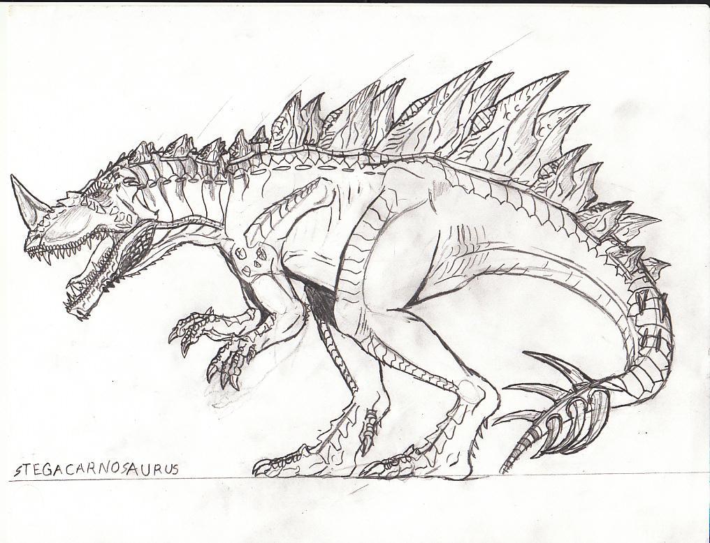 1016x778 Stegacarnosaurus By Titanosaur