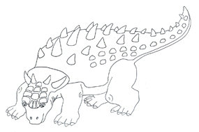 285x190 Drawing Clipart Dinosaur