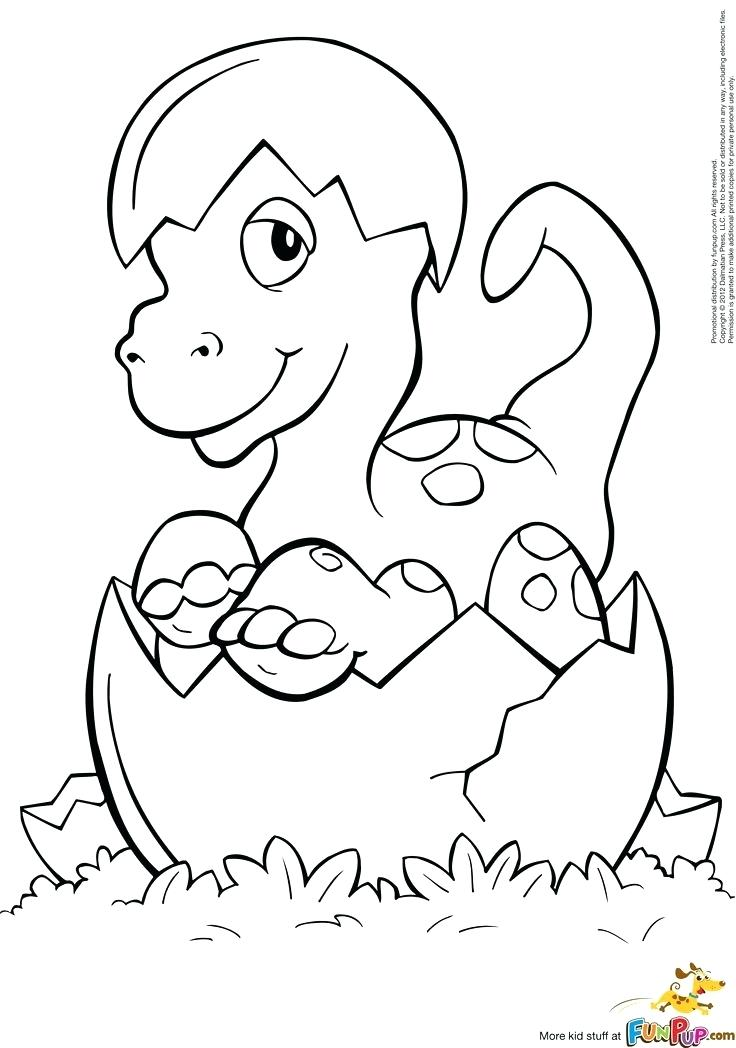 736x1048 Printable Baby Dinosaur Coloring Pages Enchanting Page