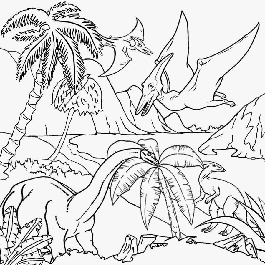 900x900 Dinosaur Drawing For Kids Free Coloring Pages Printable Pictures