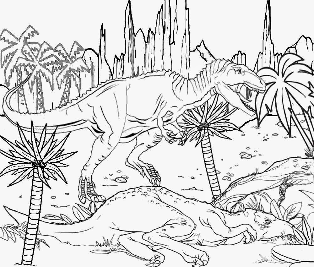 1000x850 Dinosaur Pencil Outline Diagram Free Coloring Pages Printable