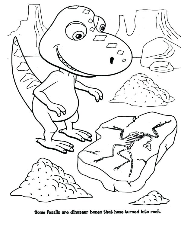 600x752 Train Coloring Books Together With Dinosaur Train Coloring Pages