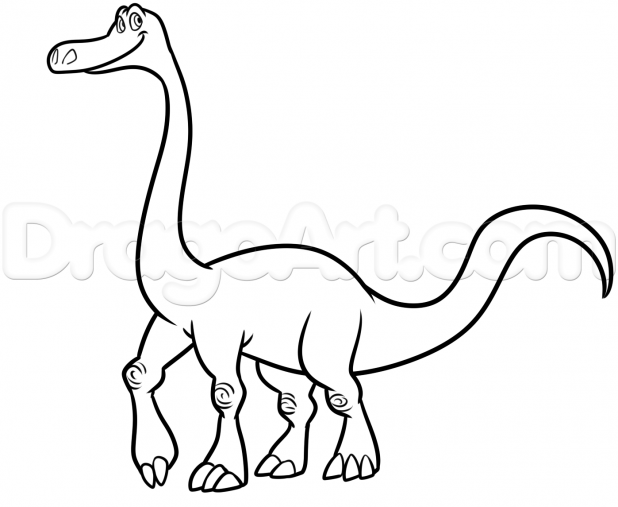 618x507 Adult Drawing Dinosaur Drawing Dinosaur Pictures For Kids. Drawing