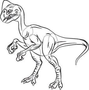 285x289 How To Draw Oviraptor Howstuffworks