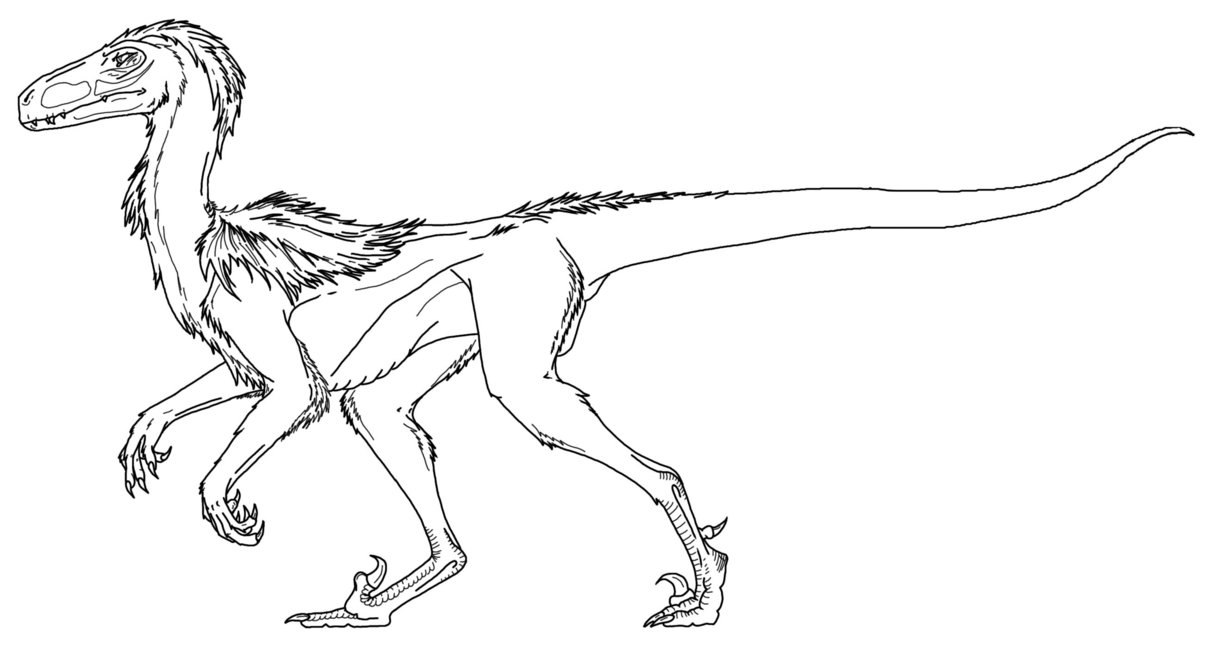 1224x653 Printable Velociraptor Coloring Pages Free Coloring Book Picture