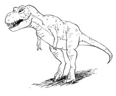 236x195 Kids Learn How To Draw A T. Rex Crafts Amp Creativity. Basteln