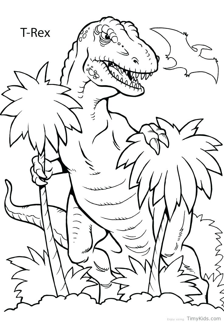 736x1061 Dinosaur Coloring Pages Coloring Pages Of Dinosaurs Drawing Kids