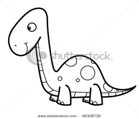 Dinosaurs Cartoon Drawing