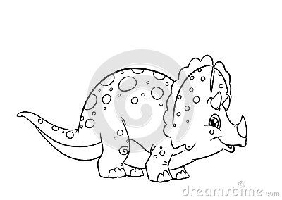 Dinosaurs Drawing Outlines