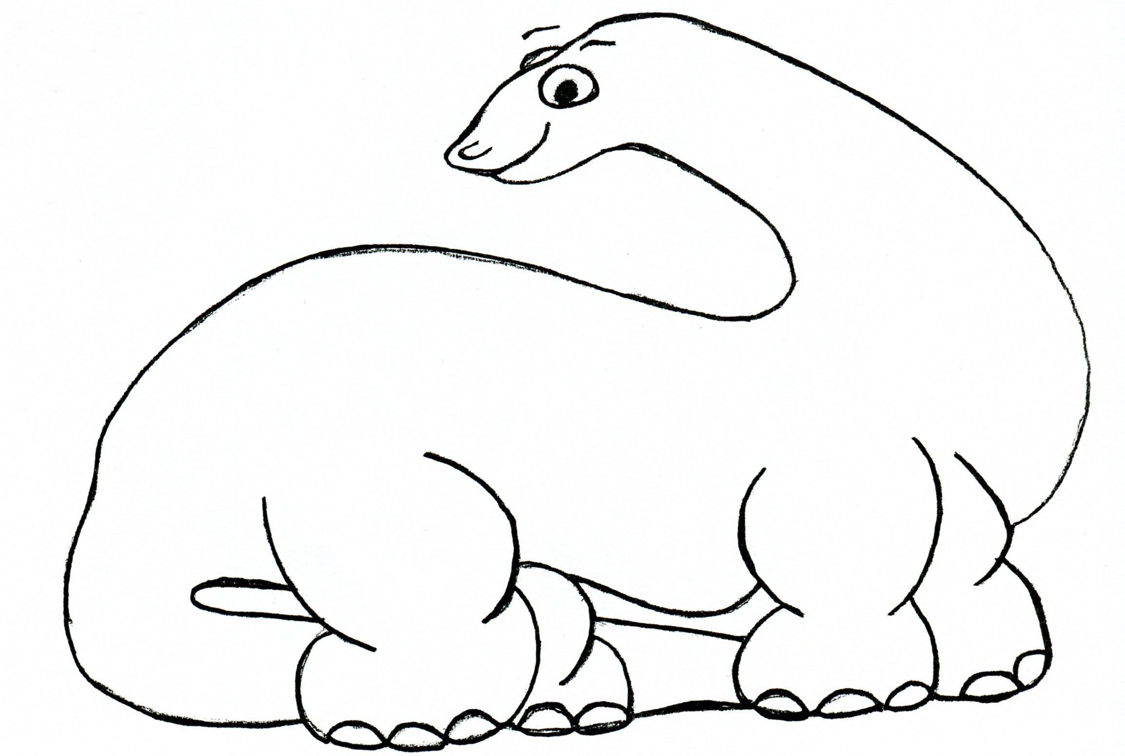 It's just a picture of Dramatic Dinosaur Outline Printable