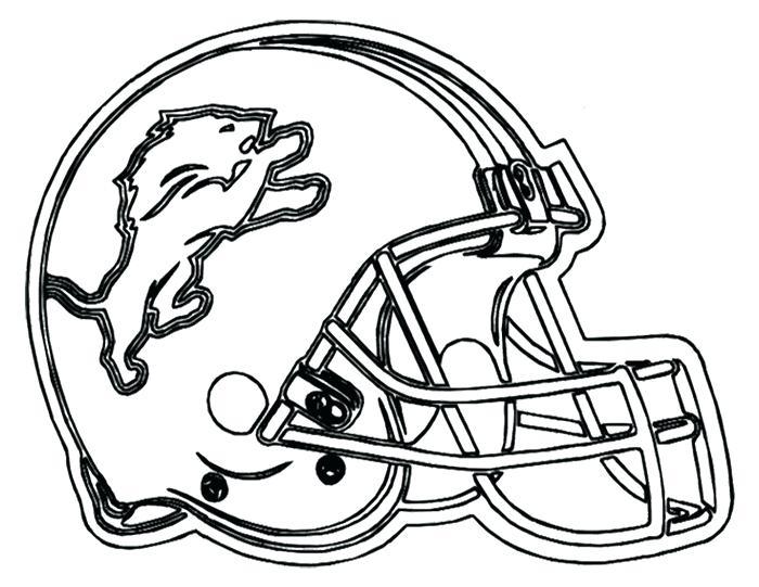 700x541 Bike Helmet Coloring Page Lions Football Helmet Dirt Bike Helmet