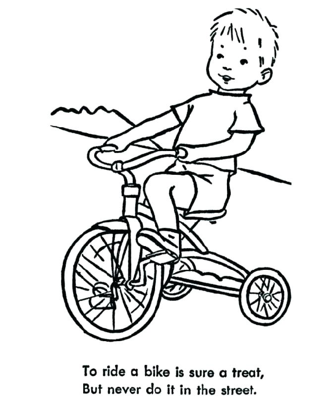 670x820 Dirt Bike Color Pages. Simple Bike Coloring Pages Bike Coloring
