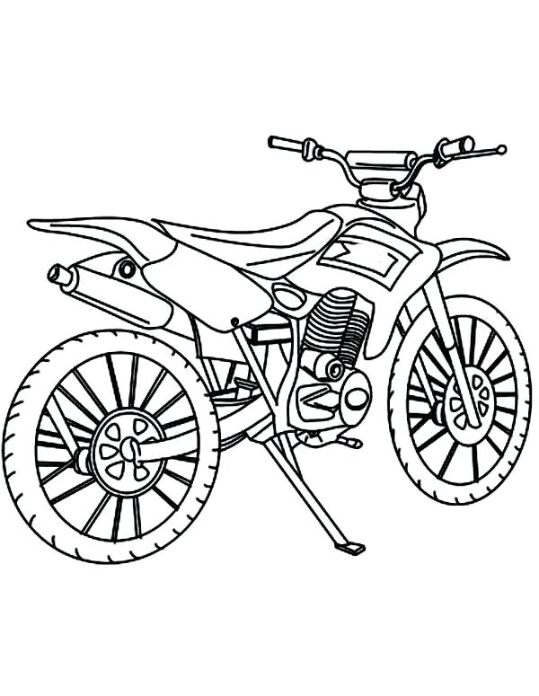 600x775 Dirt Bike Helmet Coloring Pages Get This Free Simple For Children