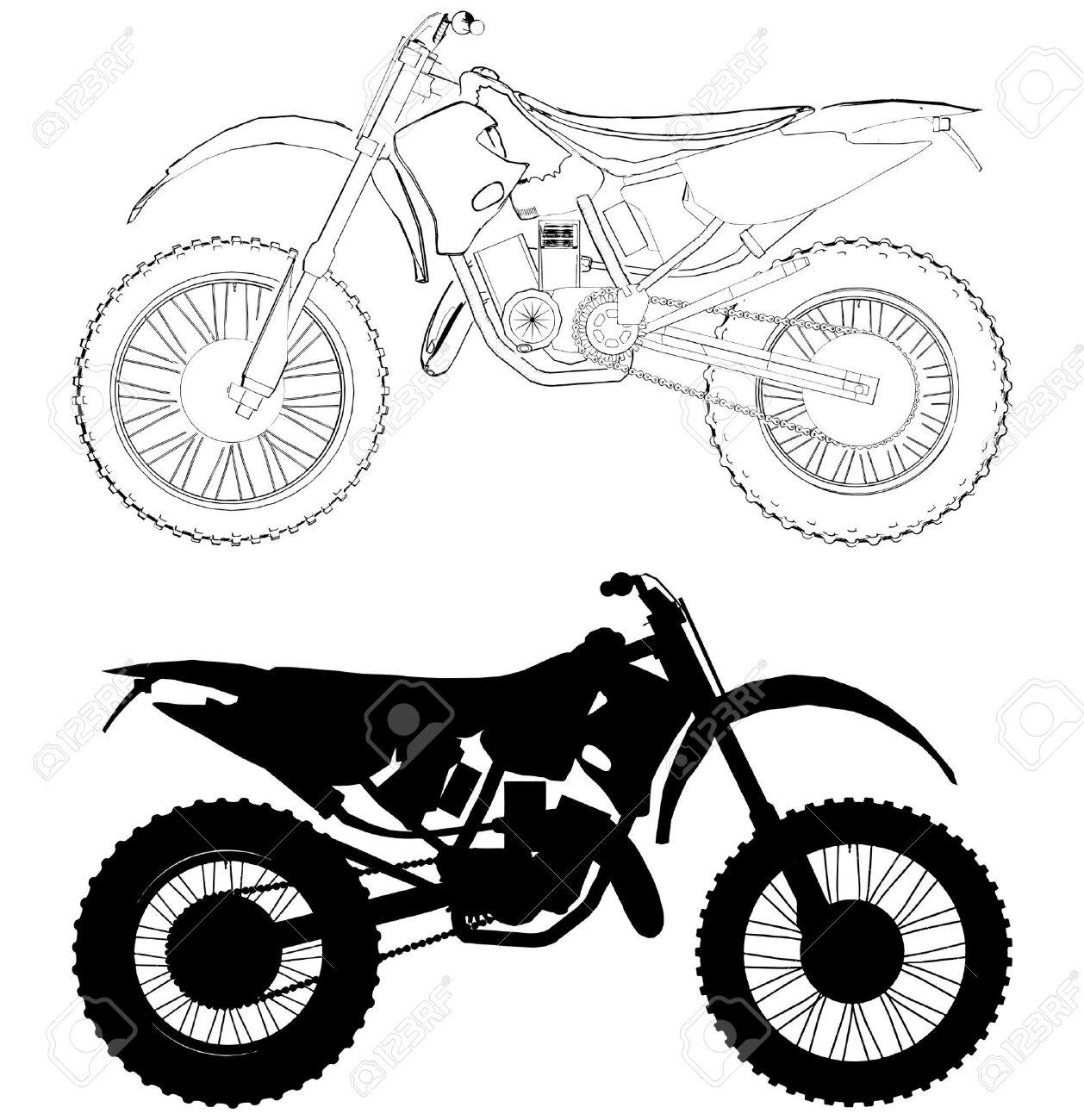 1258x1300 Dirt Bike Helmet Drawing Riding Bike