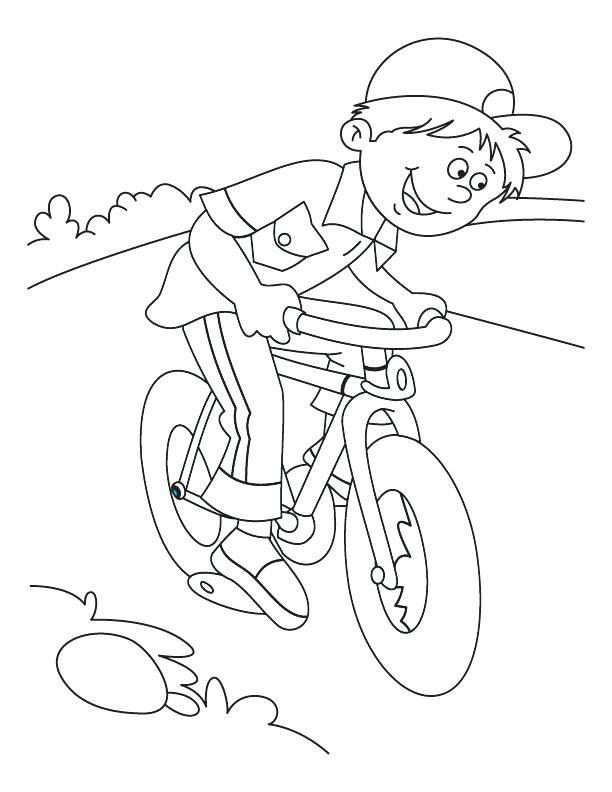 612x792 Beautiful Coloring Pages Bikes Free Download Printable Dirt Bike