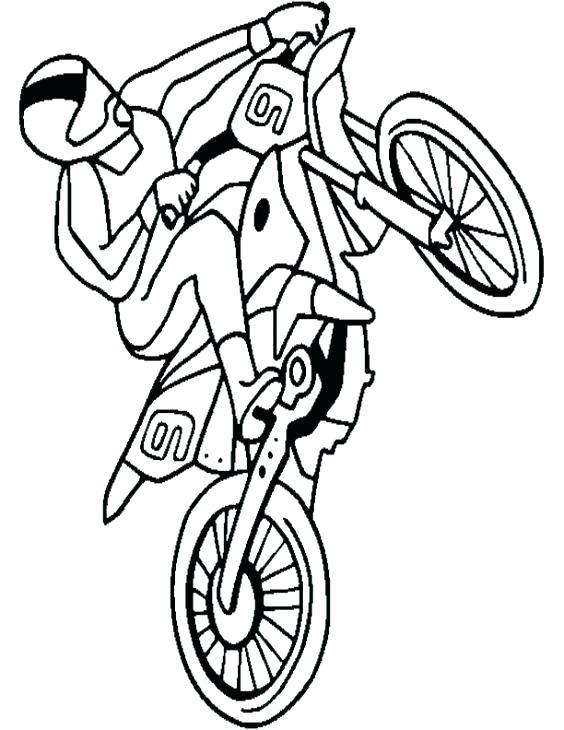 564x730 Bike Coloring Page Old Bike Coloring Page Dirt Bike Helmet