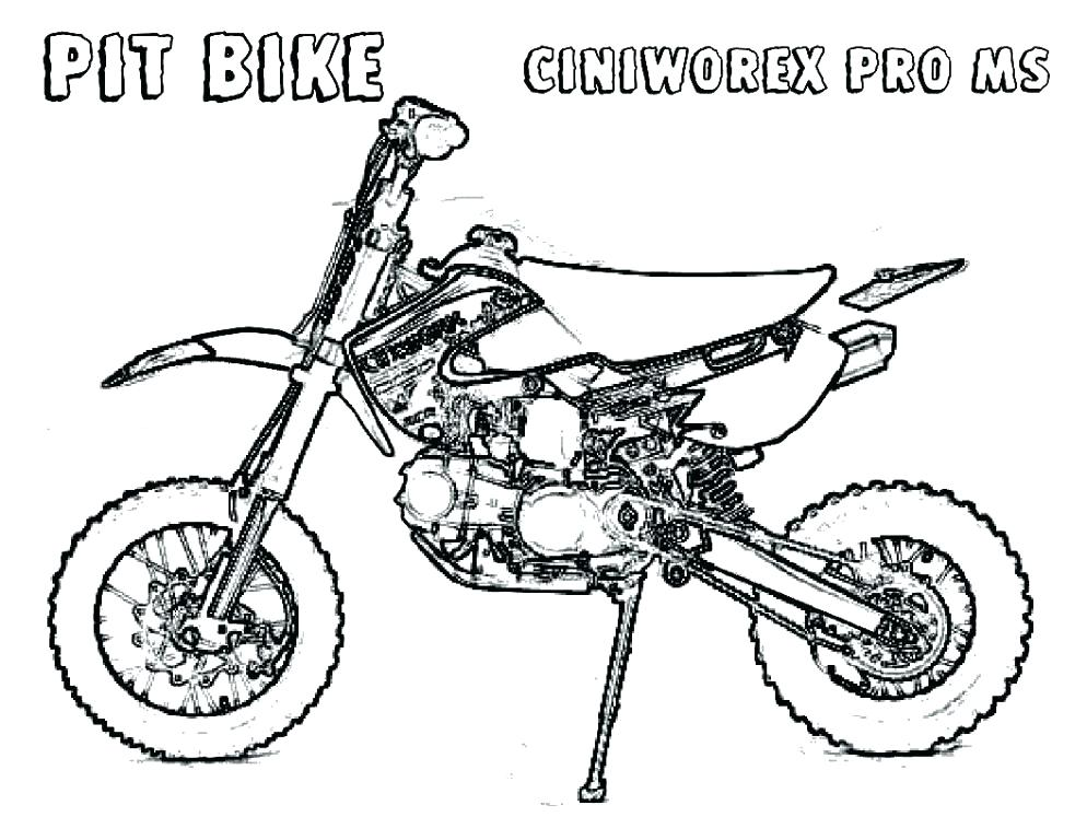 994x768 Dirt Bike Color Pages Dirt Bike How To Draw Dirt Bike Coloring