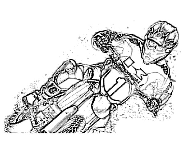 Dirt Bikes Drawing at GetDrawings.com | Free for personal ...