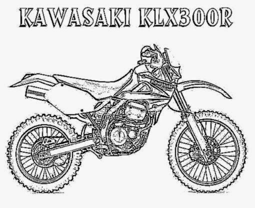 510x417 Dirt Bike Coloring Pictures Free Coloring Pictures