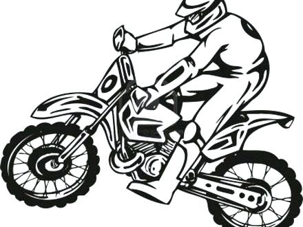 440x330 Dirt Bikes Coloring Pages Trend Dirt Bike Color Pages Best Of You
