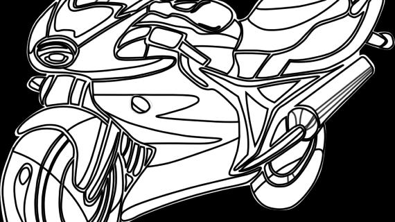 570x320 Drawings Of Motorbikes How To Draw A Dirt Bike Step Step
